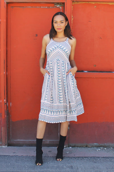 Meet Me In Morocco Midi Dress