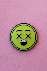 Shocked Emoji Lapel Pin