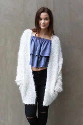 Kitten Soft Cardigan - Girl Party - 1