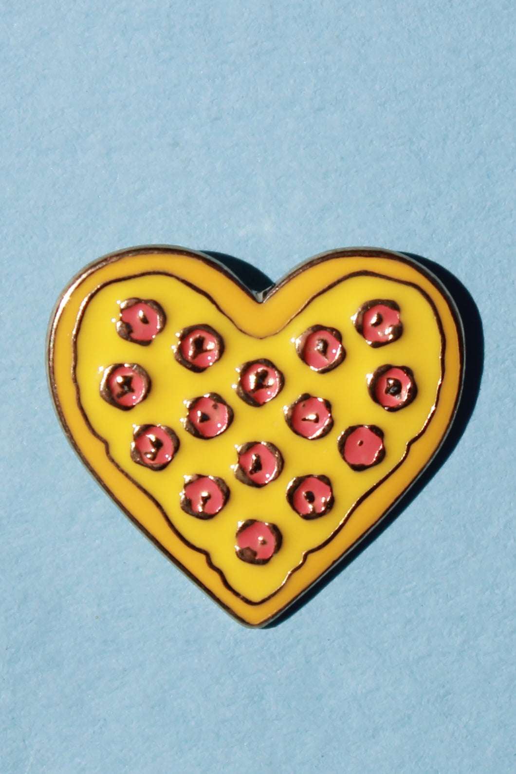 Pizza Heart Lapel Pin