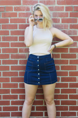Denim Darlin' Skirt