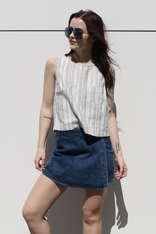 Cher Denim Skort by Pistola