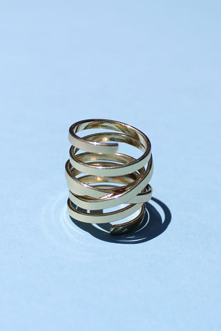 Spiral Ring - Girl Party