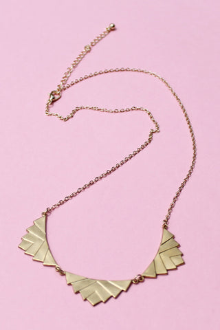 Sweet Leaf Necklace - Girl Party - 1
