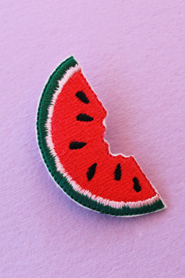 Watermelon Patch with Safety Pin Backing