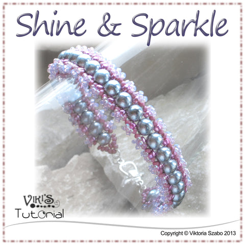 Simple pearl bracelet - Shine and Sparkle