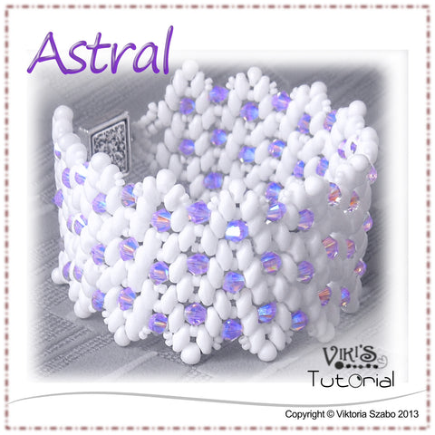 Bracelet Tutorial with Super Duo beads - Astral