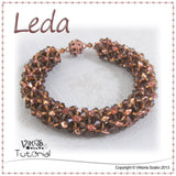 Cubic RAW Bracelet Tutorial - Leda
