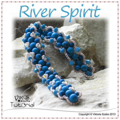 Bracelet Tutorial: River Spirit