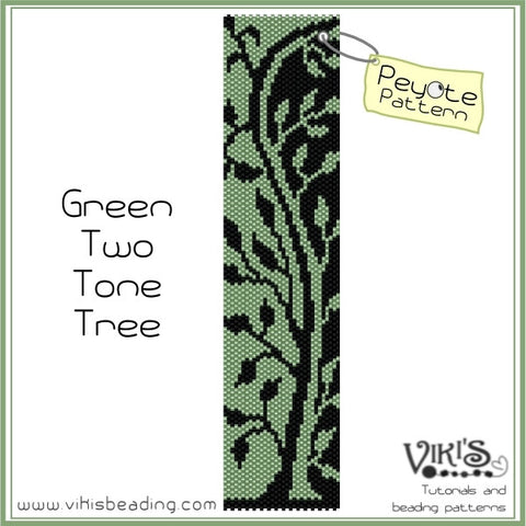 Green Two Tone Tree