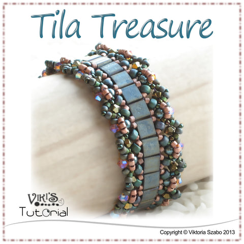 Bracelet Tutorial: Tila Treasure