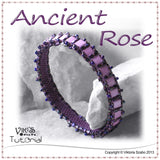 Tila Bangle Bracelet - Ancient Rose