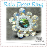 Beading Tutorial: Raindrop Flower Ring
