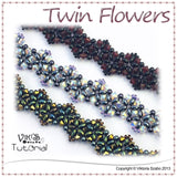 Beading Tutorial - Twin Flowers Bracelet