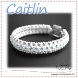 Super Duo Bracelet Tutorial: Caitlin