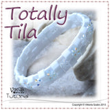 Totally Tila - Beaded Bangle Bracelet