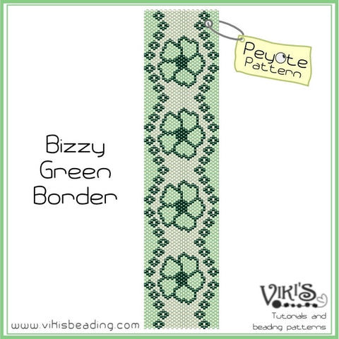 Bizzy Green Border