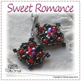 Dainty Beaded Earrings - Sweet Romance
