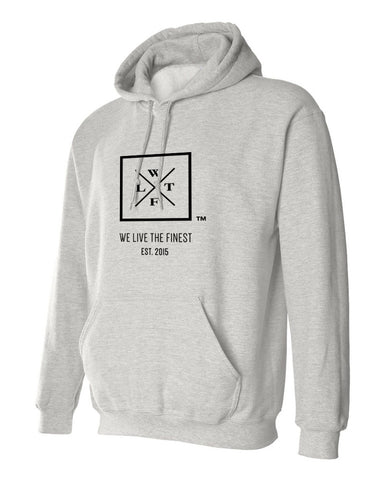 We Live The Finest® Logo Hoodie