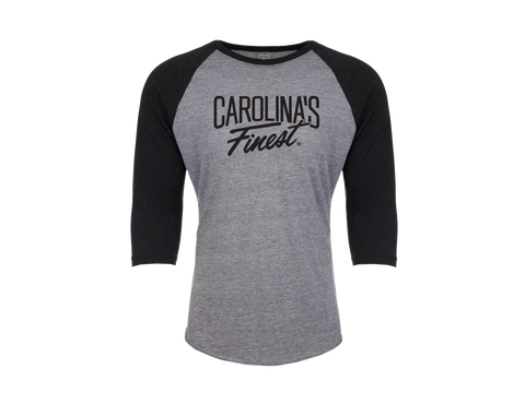 Carolina's Finest® Gray Unisex Raglan