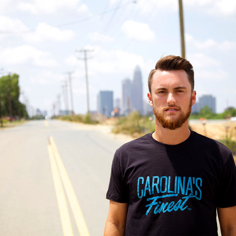 Carolina's Finest® Men's Black Tee