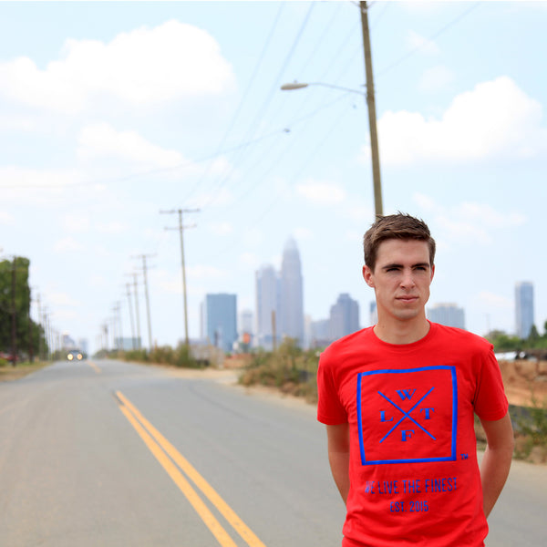 We Live The Finest® Signature Red Tee