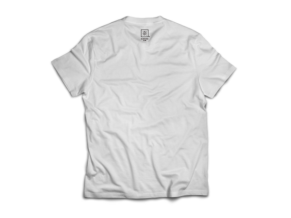 We Live The Finest® Signature White Tee