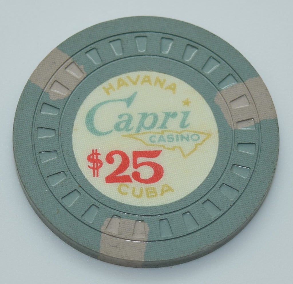 Casino Chips from the Caribbean