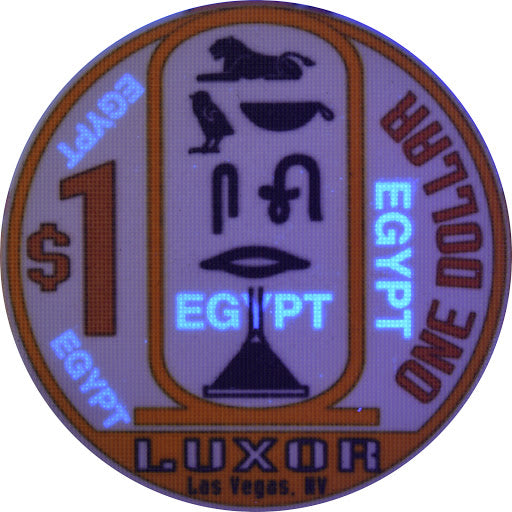 Casino Chips with UV Security
