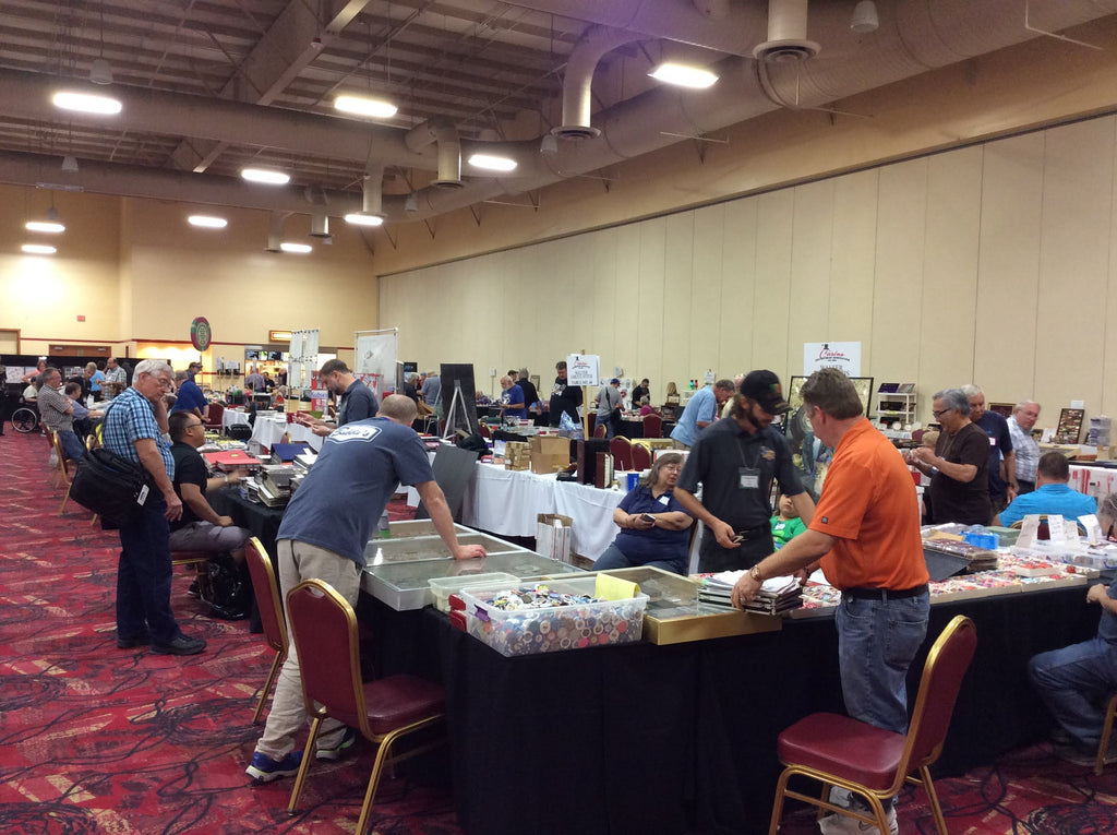 Recap of the Casino Collectibles Association's Show at South Point, New Casino Token Guide Book