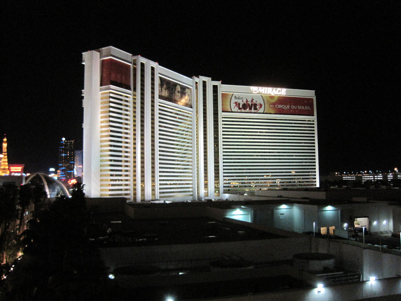 The Opening Day of the Mirage Hotel & Casino