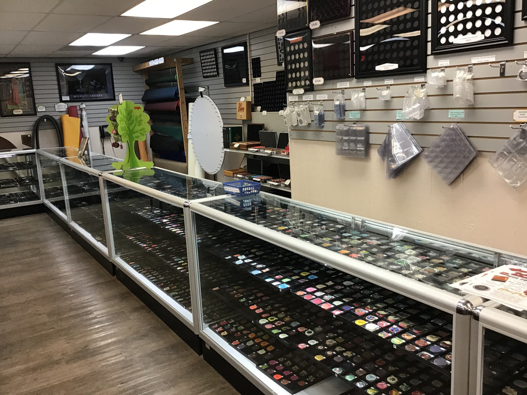 Hundreds of New Casino Chips for Sale at Spinettis Gaming Supplies in Vegas