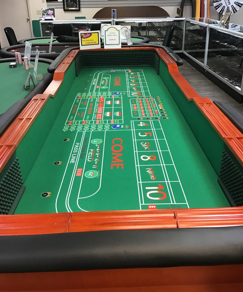 Casino Layouts, Gaming Tables and Other Fun Items