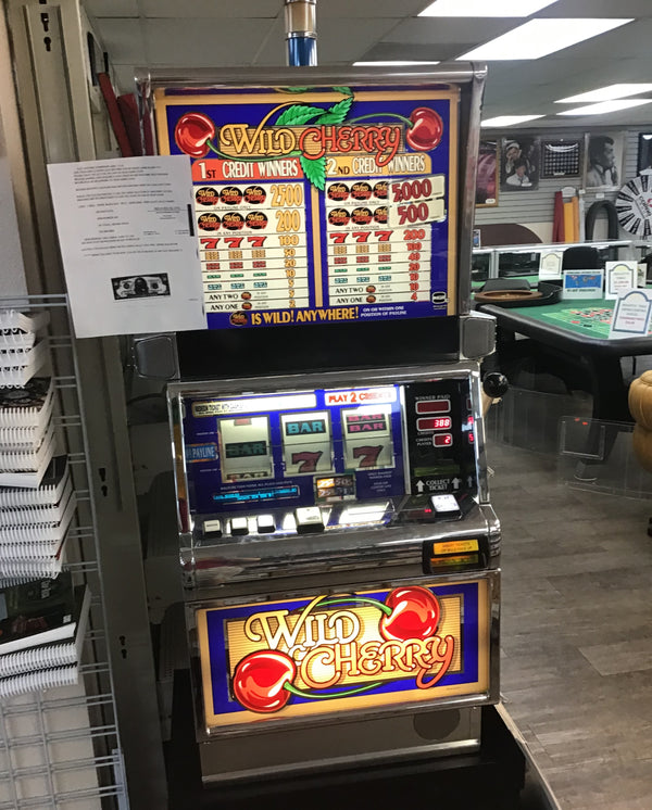 A Slot Machine Now at Spinettis