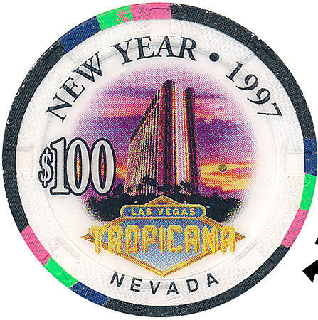 Las Vegas and New Year Casino Chips