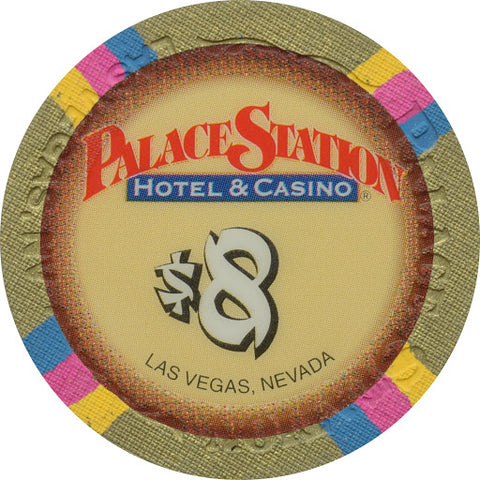 NEVADA $1.00 CHIP GREAT FOR COLLECTION! 1984 PALACE STATION CASINO LAS VEGAS