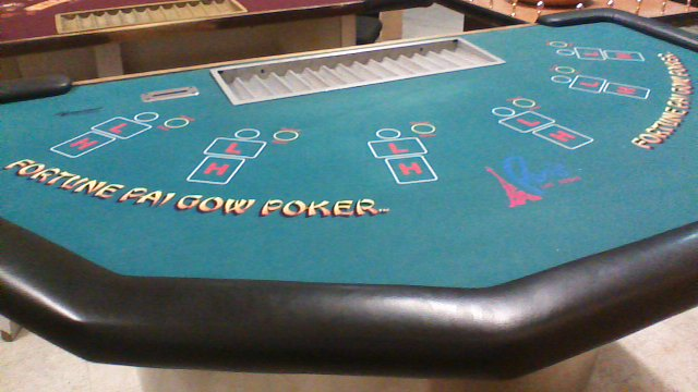 Pai Gow Table from the Paris Hotel and Casino