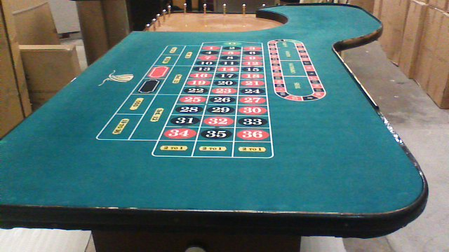 Authentic Roulette Table from the Wynn Hotel and Casino