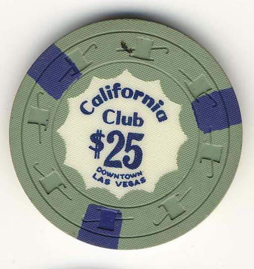 California Club Chip from the 1960's