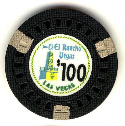 El Rancho Collector Casino Chip