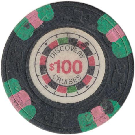 $5 CASINO GAMING CHIP FROM DISCOVERY CRUISE Lines Poker//Obsolete
