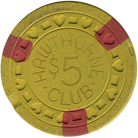 Hawthorne Club $5 chip