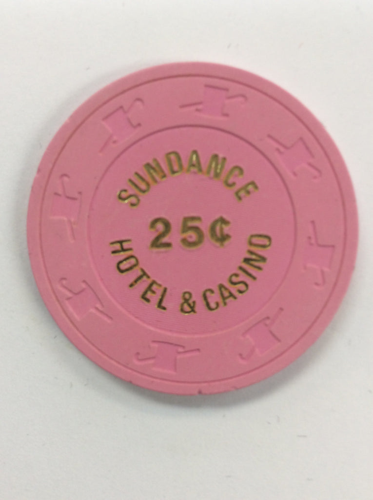 Sundance Casino Las Vegas NV 25 Cent Chip 1980