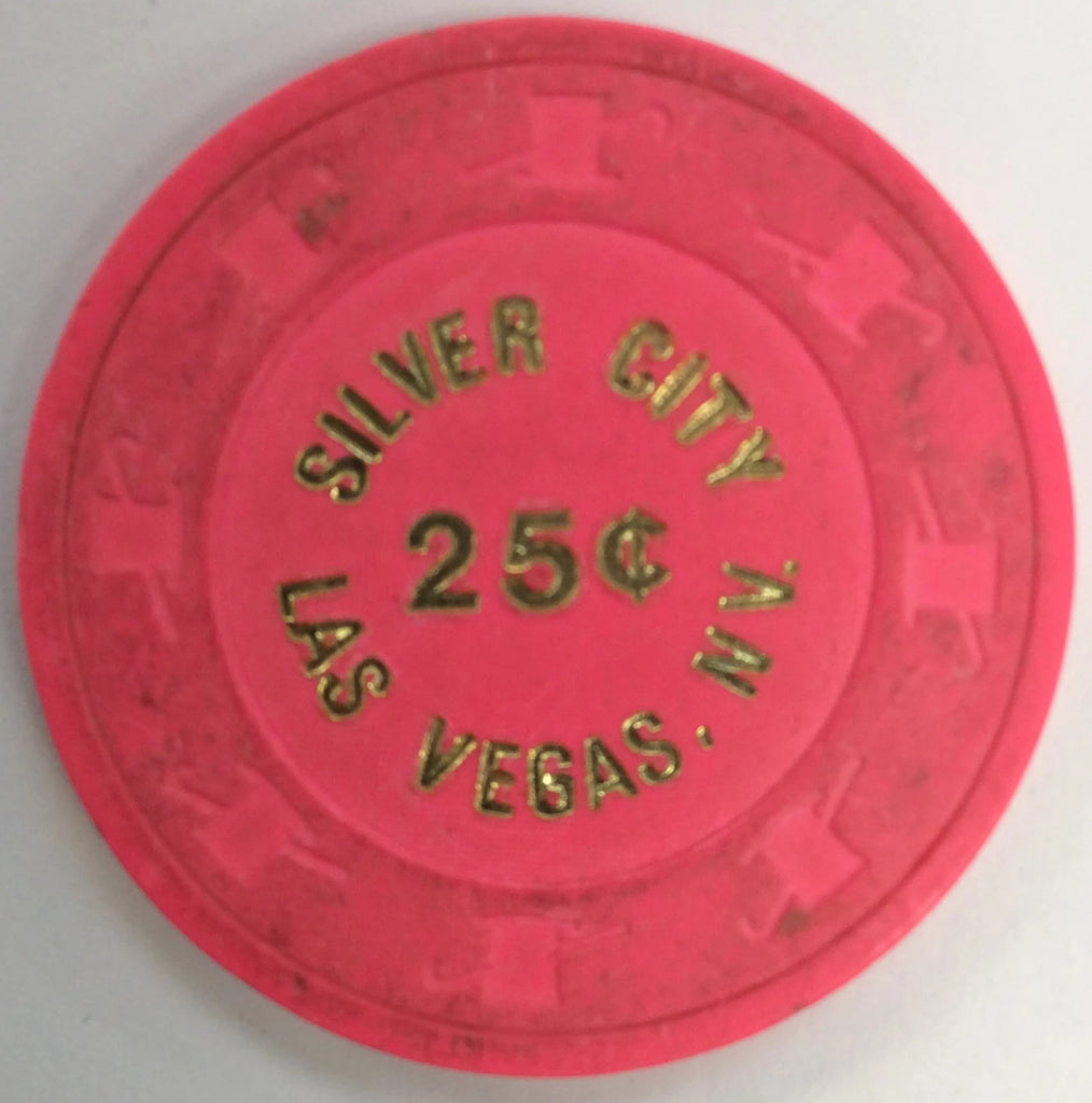 Silver City 25cent (Lt. pink) chip
