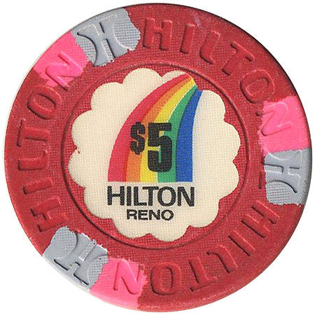 Reno Hilton $5 (red) chip