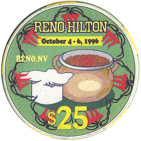 Reno Hilton $25 (green) chip