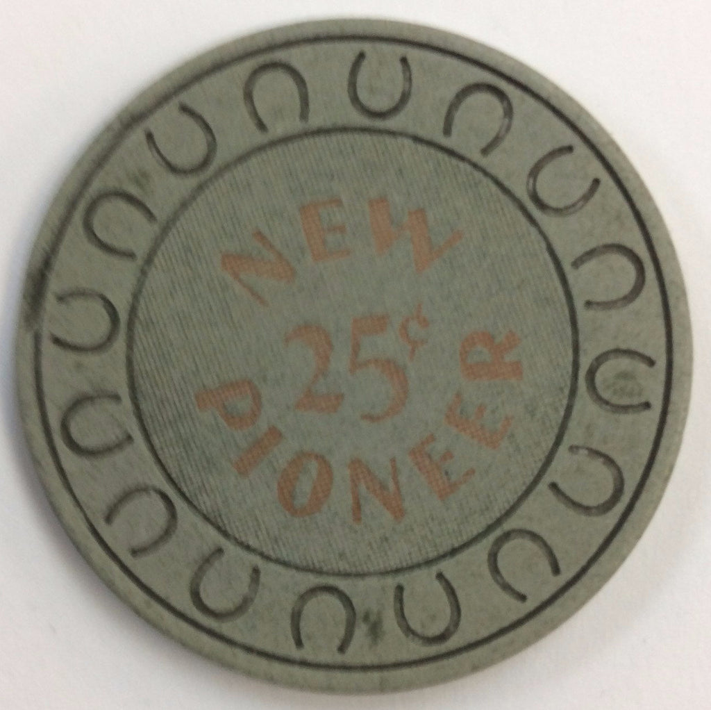 New Pioneer Casino 25cent Chip
