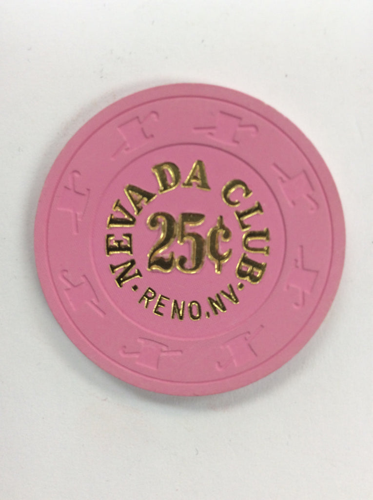 Nevada Club 25cent (pink) chip