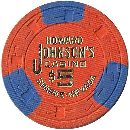 Howard Johnson's Casino $5 chip - Spinettis Gaming - 1