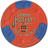 Howard Johnson's Casino $5 chip - Spinettis Gaming - 2
